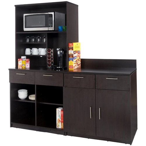 Breaktime 3 Piece Coffee Break 72u0027u0027 X 72u0027u0027 Pantry Cabinet