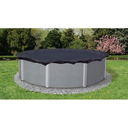 Blue Wave Bronze 8-Year 24-ft Round Above Ground Pool Winter Cover - Walmart Pool Clearance