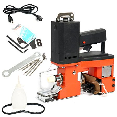 Yaetek 110V Industrial Portable Electric Bag Stitching Closer Seal Sewing Machine Closing Sealing