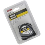 "Master Mechanic 12' Foot x 5/8"" Nylon Coated Tape Measure with Reinforced Hook 163002"