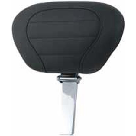 Mustang 79012 Trike Deluxe Touring Driver Backrest Pad and Post