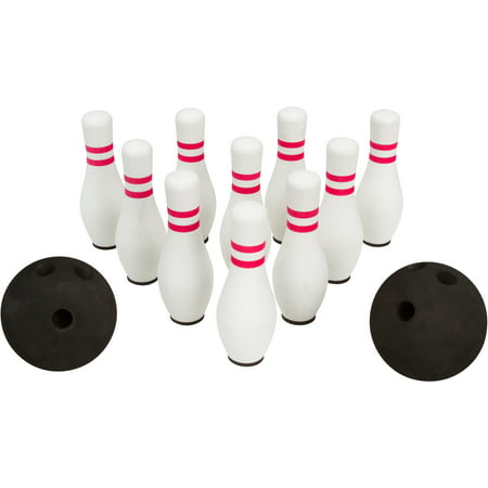 Image of 12- Piece Foam Bowling Set - 10 Pins & 2 Balls By Allures & Illusions