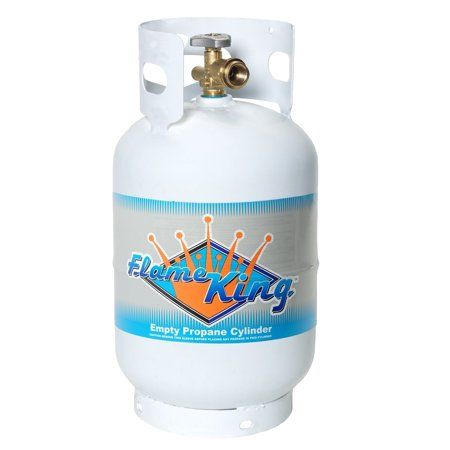 - 11 lb. Propane Cylinder with Type 1 Overfill Protection Device Valve (Ships Empty)
