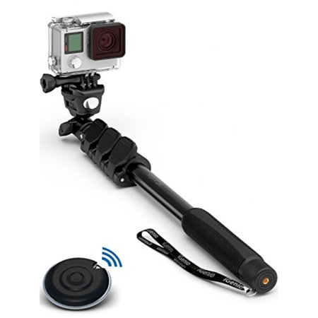 pretty nice 21770 a4ad7 Professional 10-In-1 Monopod / Selfie Stick For GoPro Hero, iPhone, Samsung  Galaxy, Digital Cameras With Bluetooth Remote Shutter (Cellphones Only)