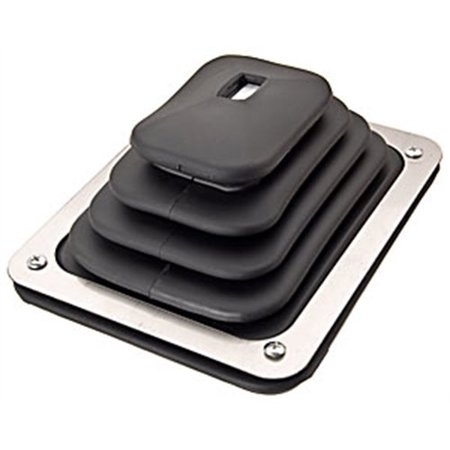 JEGS 62380 Shifter Boot & Plate