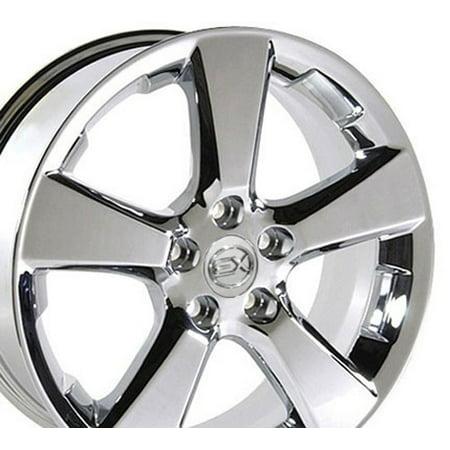 - 18x7 Wheel Fits Lexus, Toyota - RX 330 Style Chrome Rim, Hollander 74171 - SET