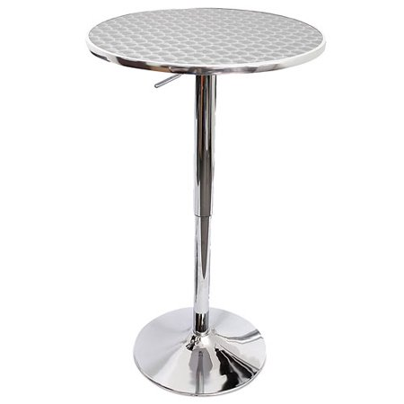 Vino Adjustable Cafe Bar Table Walmart Com