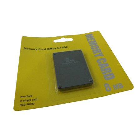 8MB Memory Card for PlayStation 2 PS2 Video Game Consoles - Replaces SCPH-10030