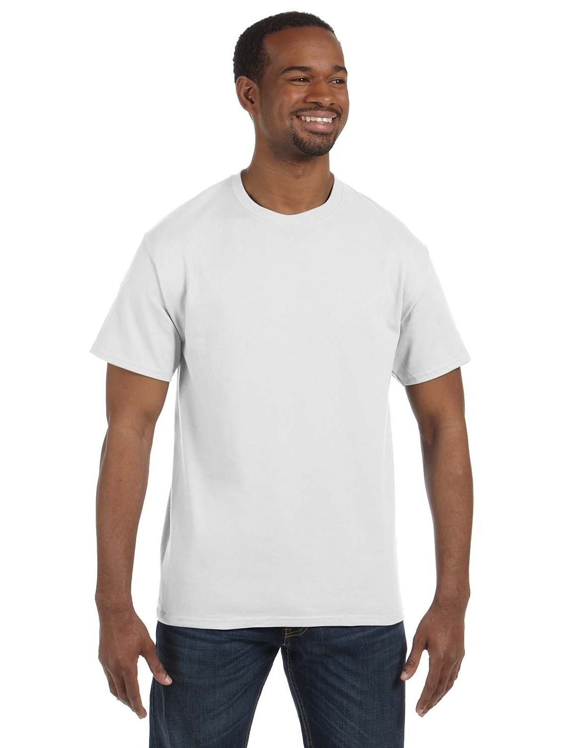Gildan  Men's White Heavy Cotton Undershirts (Pack of 12)