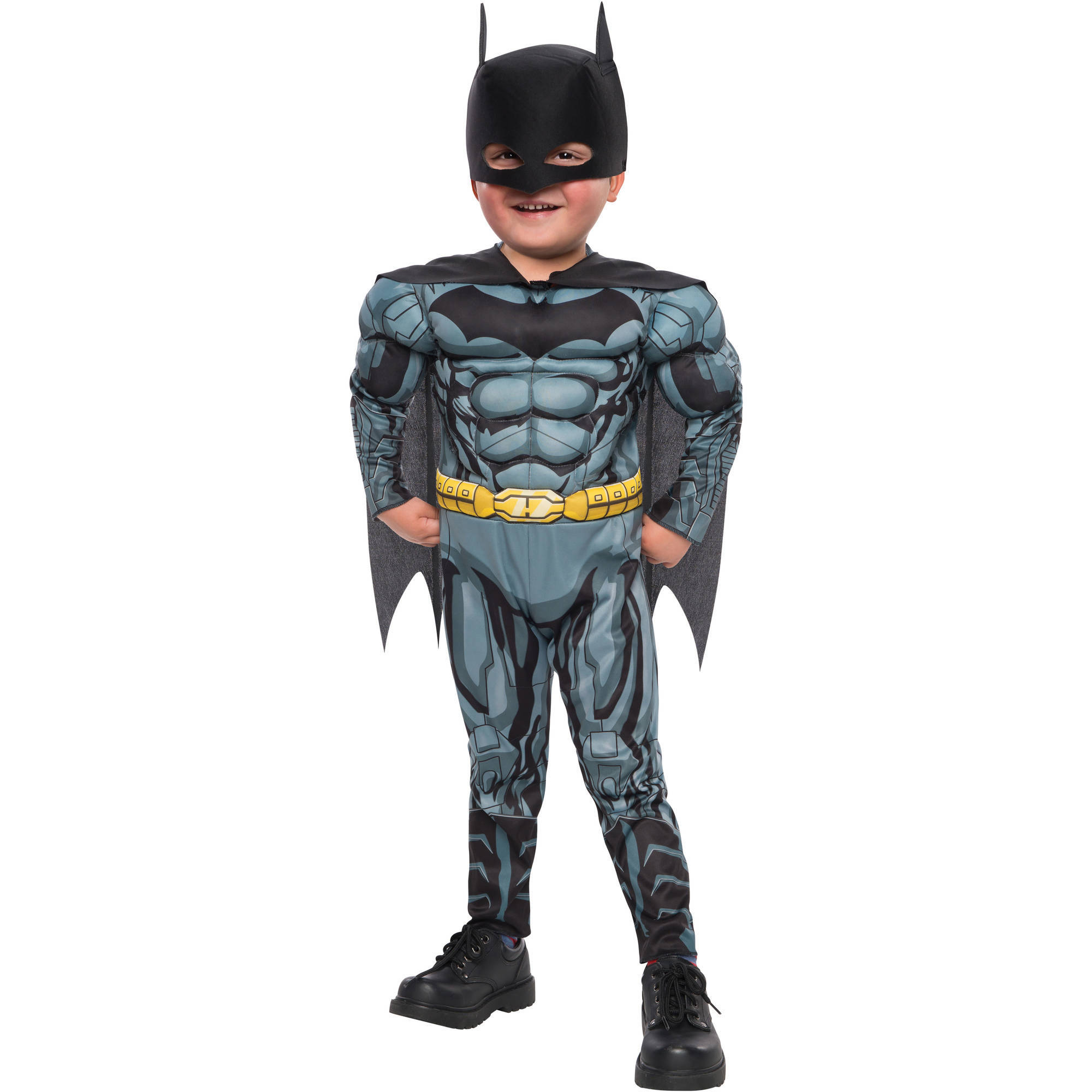 Batman Fiber Fill Boys Toddler Halloween Costume  sc 1 st  Walmart & Boysu0027 Batman Costumes