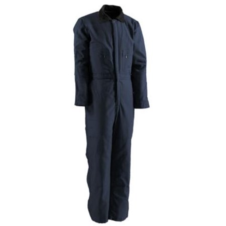 Berne Deluxe Insulated Coverall Size 6xl Tall Navy