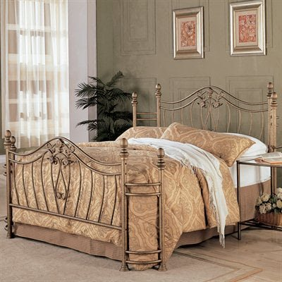 Coaster Fine Furniture 300171Q Iron Bed Coaster Furniture Contemporary Bed