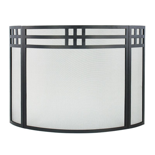 Minuteman International 3 Panel Fireplace Screen II by Minuteman International