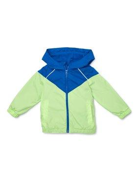 Wonder Nation Baby & Toddler Boy Colorblock Windbreaker Jacket
