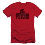 Psycho Men's  House On The Hill Slim Fit T-shirt Red