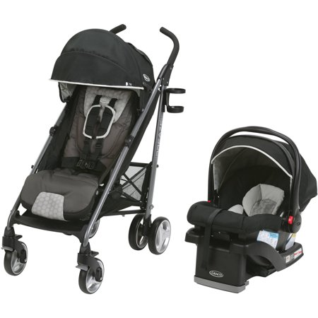 Graco Breaze Travel System Stroller With Snugride Click Connect 35 Infant Car Seat  Davis