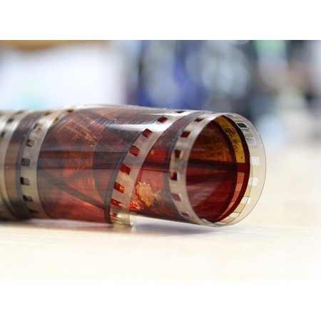 Canvas Print Retro Slides Film Filmstrip Film Stock Frame Stretched Canvas 10 x 14 ()