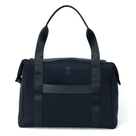 f54cb934fd6 MOTILE™ Premium Neoprene Sport Carryall Laptop Gym Bag with 10,000 mAh Qi  Certified Wireless Charging Battery System, Black - Walmart.com