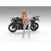 Female Erica Figure For 1:18 Diecast Model Cars by American Diorama