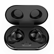 UrbanX Street Buds Plus True Bluetooth Wireless Earbuds For Samsung Galaxy S10 Lite With Active Noise Cancelling (Charging Case Included) Black