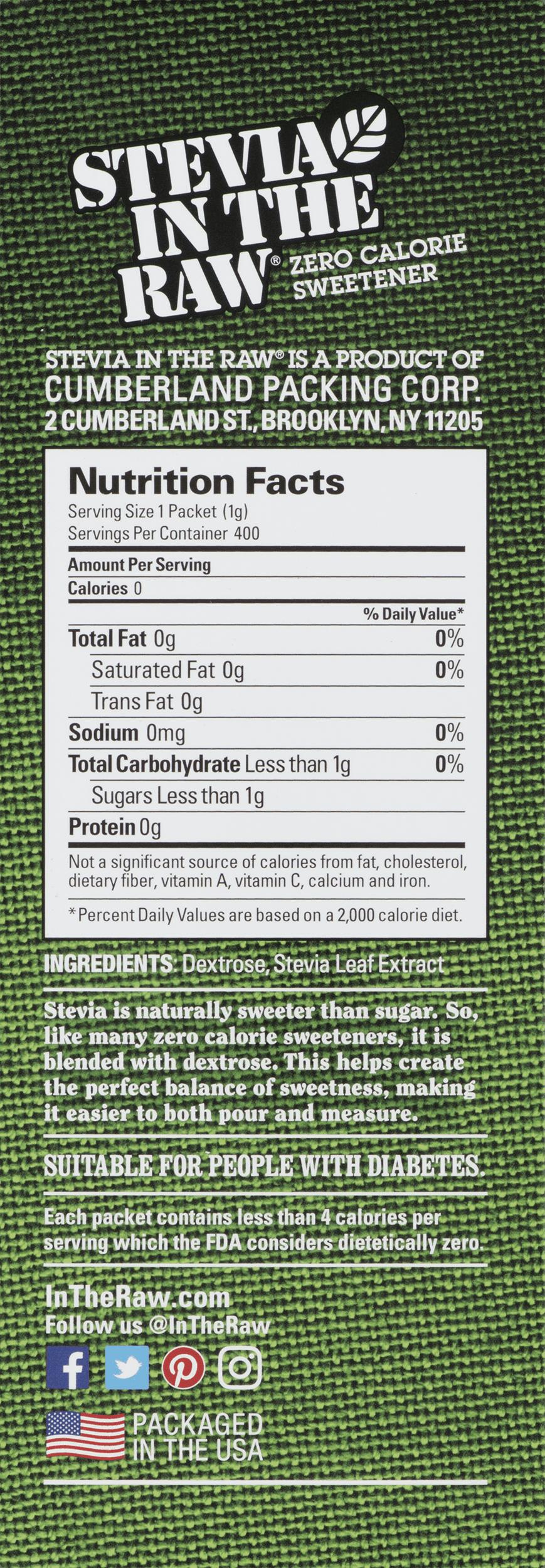 Truvia Nutrition Data – Besto Blog