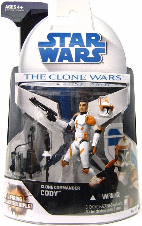 Star Wars Figure 2008 Animated CLONE WARS Commandant Cody