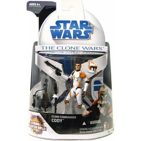 Star Wars Clone Wars 2008 Clone Commander Cody Action Figure (Star Wars Clone Cody)
