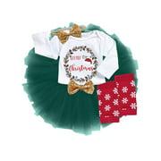 KidLuv Girls Baby Newborn Toddler Tutu Skirt Fluffy Ballet Dance Party Christmas Dress Photo Prop