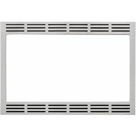 Panasonic 27 In. Wide Trim Kit for Panasonic's 2.2 Cu. Ft. Microwave Ovens - Stainless