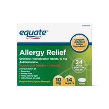 Allergy & Sinus: Equate Allergy Relief (Compare to Zyrtec)