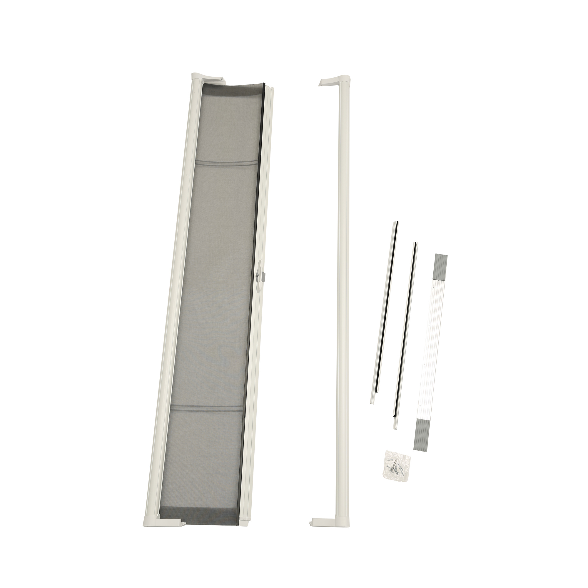 "ODL Brisa White Standard Retractable Screen for 80"" Inswing/Outswing Doors"