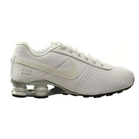 Nike Shox Deliver PNT (GS) Big Kids Shoes White/White-Metallic Silver-Black  615981-100 (6.5 M US) - Walmart.com