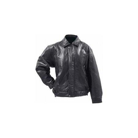 Italian Stone Design Genuine Buffalo Leather Bomber Jacket- S
