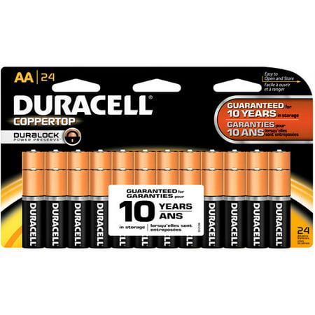 金霸王Coppertop AA家用电池,24粒