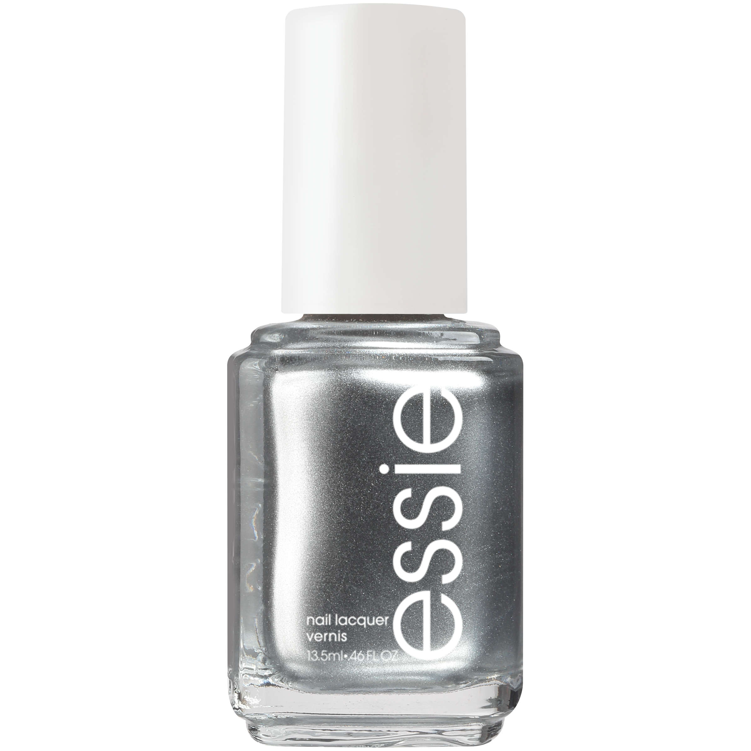Essie Nail Polish (Metallics) No Place Like Chrome, 0.46 fl oz ...