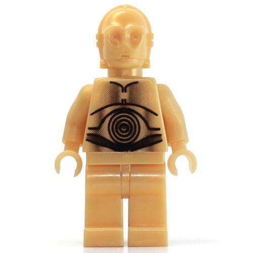 LEGO Star Wars C-3PO - Light Pearl Gold Minifigure