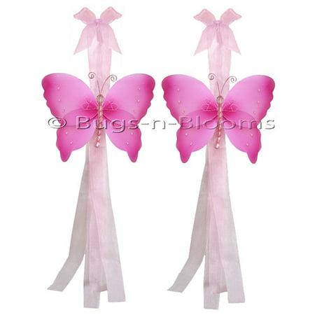 - Bugs-n-Blooms Butterfly Curtain Tieback (Set of 2)