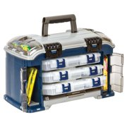 Plano Synergy Fishing Angled Tackle Storage System 3600, Medium, Blue / Grey