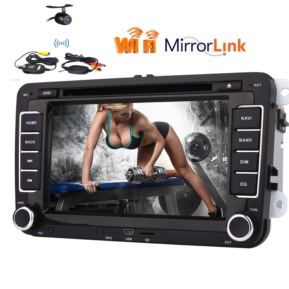 HD 1080p Car DVD Player Special for Volkswagen Car Stereo System GPS