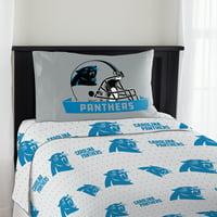 03b85365f Product Image NFL Carolina Panthers Monument Twin Sheet Set