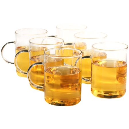 Coffee, Tea Glasses, Set of 6 ()