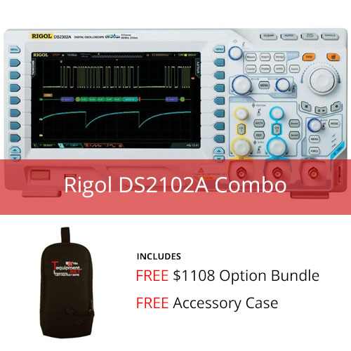 Click here to buy Rigol DS2102A Combo by Rigol.