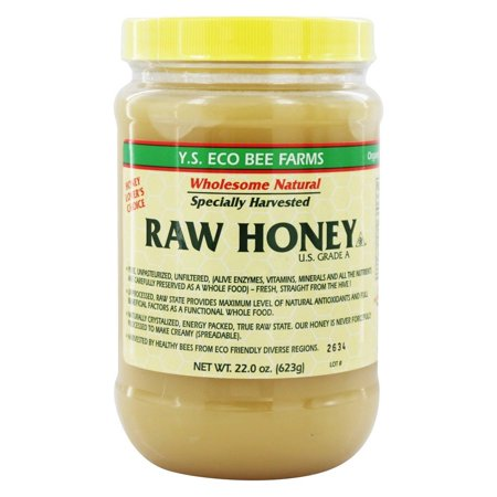 YS Organic Bee Farms - Raw Honey - 22 oz. (Ys Eco Bee Farms Organic Raw Honey)