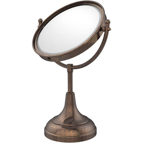 """8"""" Vanity Top Make-Up Mirror, 4x Magnification (Build to Order)"""
