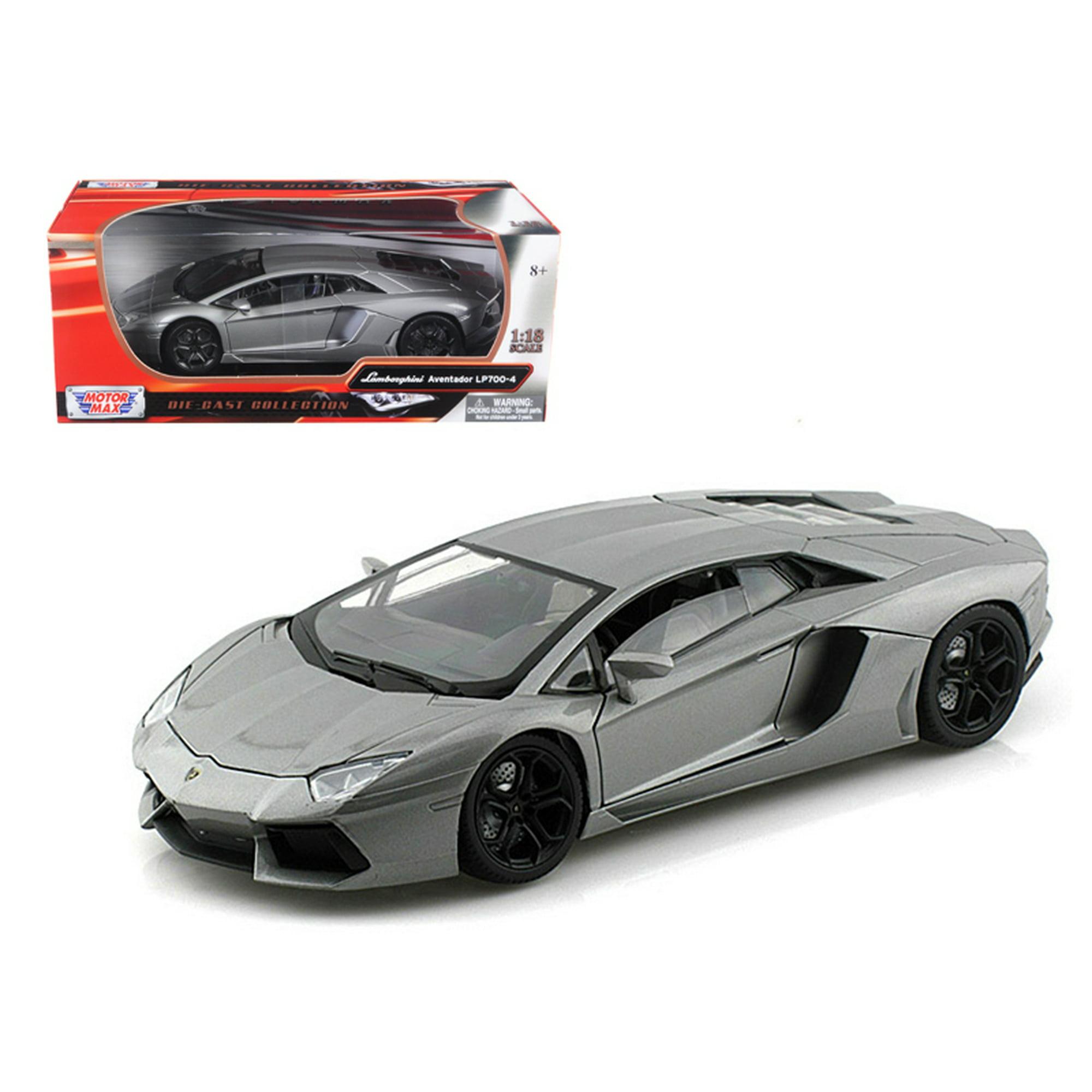 Lamborghini Aventador Lp700 4 Grey 1 18 Diecast Car Model By