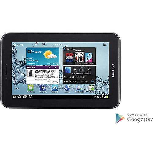 "Samsung Galaxy Tab 2 7"" Tablet with 8GB Memory - Titanium Silver"