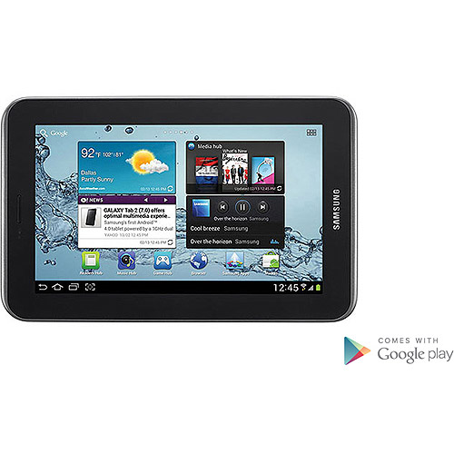 "Samsung Galaxy Tab 2 7"" Tablet with 8GB Memory - Titanium Silver"