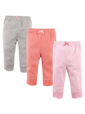 Luvabale Friends Toddler Girl Jogger Pants, 3 pack