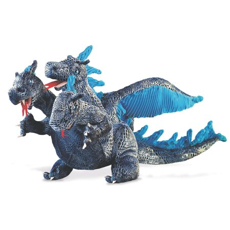 Blue 3 Headed Dragon Puppet (Other) ()