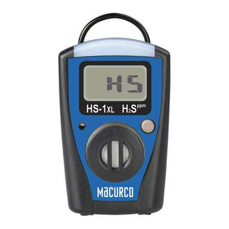 (Gas Monitor,LCD,H2S,3-1/8 in. H,2 in. W)
